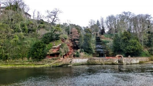 Caves and gardens, Wetheral