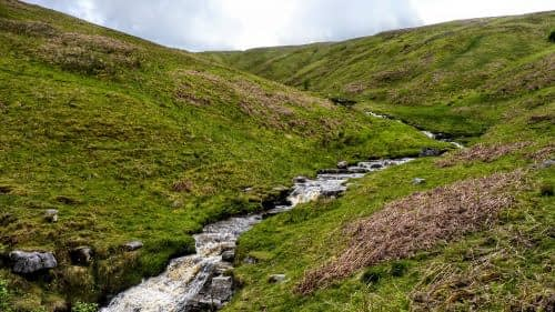 Waterfalls in Hagg Beck, Langstrothdale