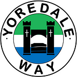 Yoredale Way walk logo