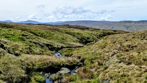 Looking back towards the Mallerstang valley