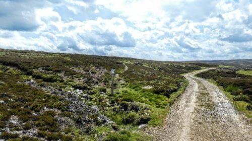 Path through the heather, Whitaside Moor