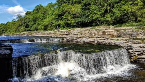 Lower Force at Aysgarth Falls