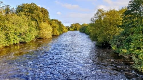 River Ure from Tanfield Bridge