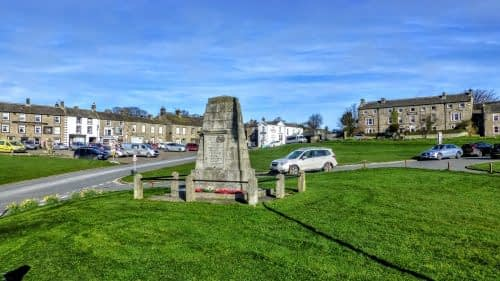 Reeth village green