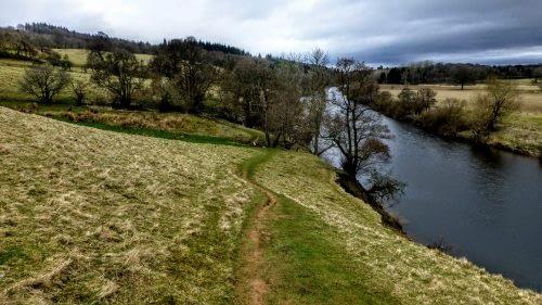 River Eden at Daleraven Bridge