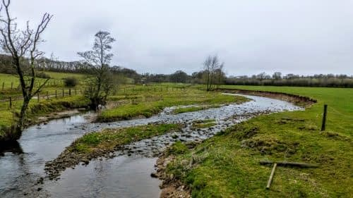 Riverbank erosion outside Kirkby Stephen
