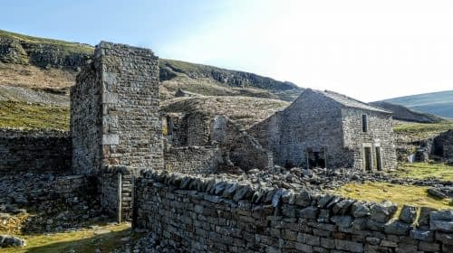 Crackpot Hall, above Keld, high route