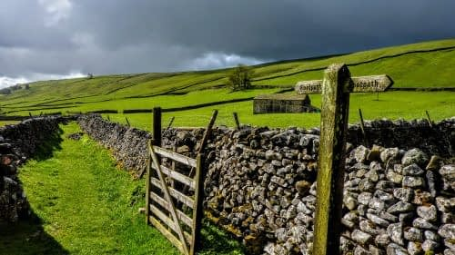 Clouds ahead in Littondale