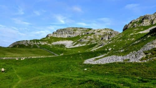The limestone crags of Attermire Scar