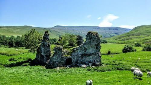 Ruins of Lammerside Castle, Vale of Eden