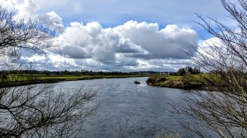 A wide bend in the Eden, outside Carlisle