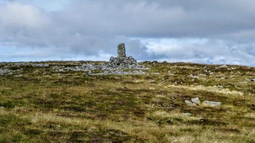 Cairn on Mallerstang Ridge