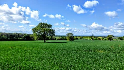 Big skies, outside Thirsk