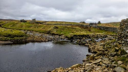 The source of the River Swale