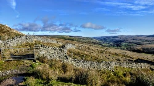 Descending to Thwaite, Upper Swaledale