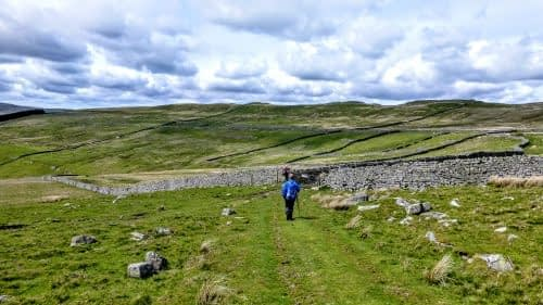 Along the old Roman road above Cragdale