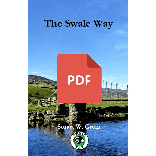 Swale Way walking guide book cover