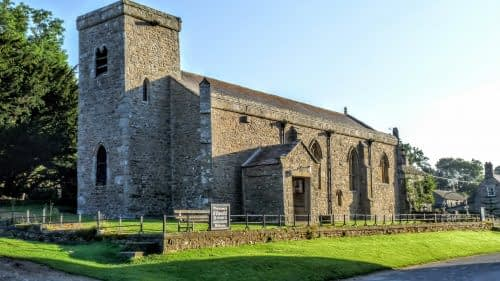 St. Oswald's church, Castle Bolton