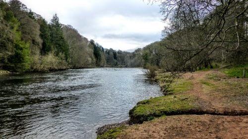 Riverside paths into Armathwaite