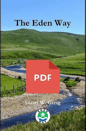 Eden Way walking guide book cover