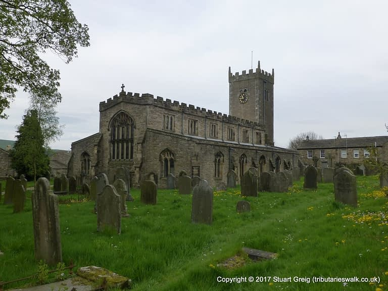 St. Oswald's church in Askrigg
