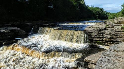 Lower force in Aysgarth Falls
